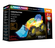 LASER PEGS 3 in 1 Construction 31011