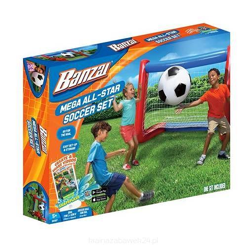 Zestaw do gry w piłkę nożną - sklep z zabawkami krainazabawek24.pl