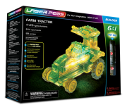 LASER PEGS 6 in 1 Farm Tractor 61011