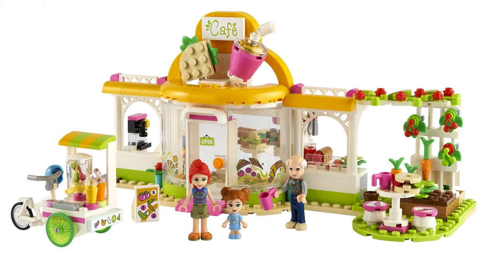 LEGO Ekologiczna kawiarnia w Heartlake City 41444 - sklep z zabawkami krainazabawek24.pl