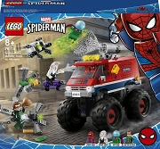 LEGO Monster truck Spider-Mana vs  Mysterio 76174